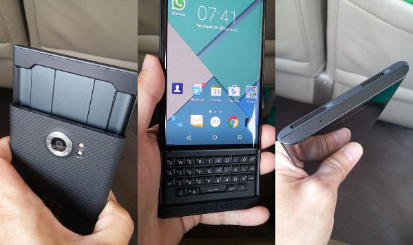 BlacKBerry PRIV, Chen Tempesta in una tazza di the