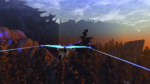 In volo con un glider