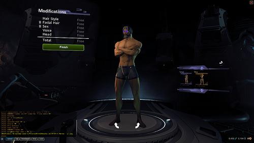 Tramite le stazione New You é possibile personalizzare il proprio avatar...