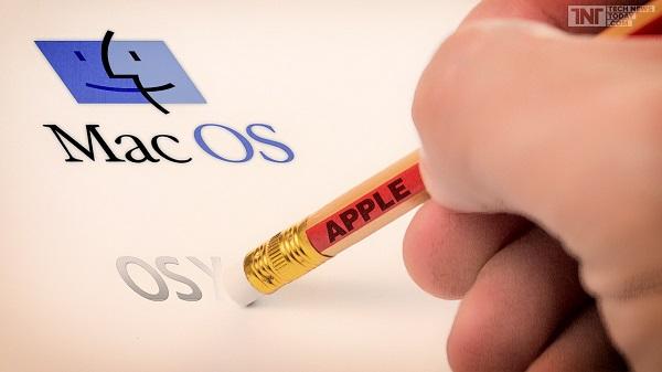 Apple, OS X potrebbe ridiventare MacOs