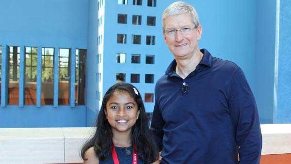 Apple programmatrice di soli 9 anni crea una app
