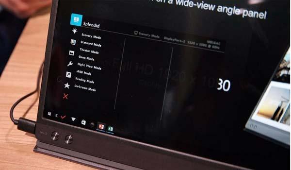 Zenscreen arriva il display ultrasottile del leggerissimo Asus