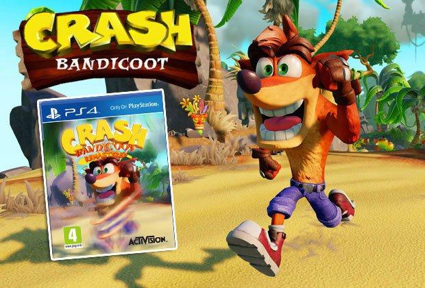 Crash Bandicoot Remastered