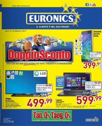 Offerte volantino Euronics