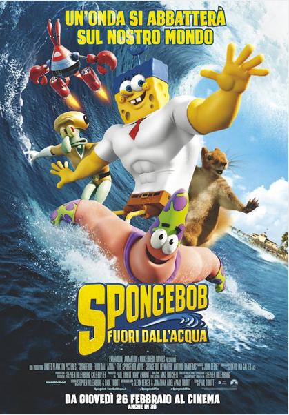 Spongebob Fuori dall'acqua Streaming