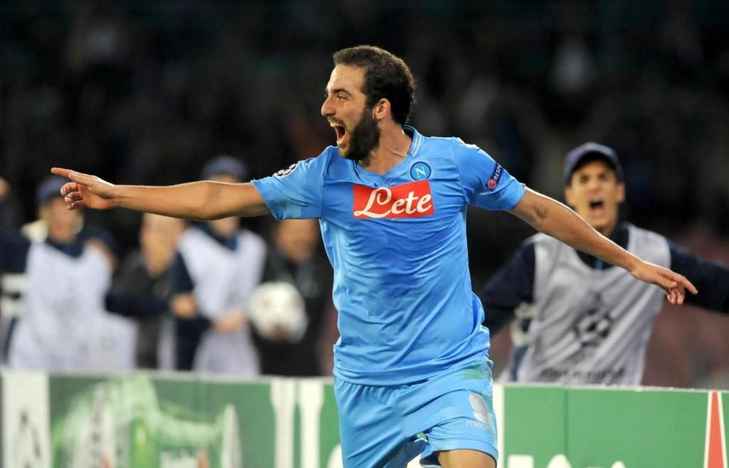 Napoli vs Marsiglia - Uefa Champions League 2013 2014