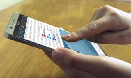 Smartphone con display sensibili caratteristiche
