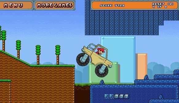 Super Mario eroe dei giochi in flash