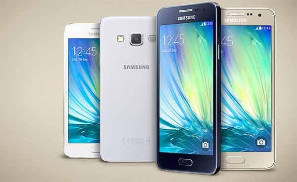 Samsung Galaxy A5 e Galaxy A3 finalmente disponibili