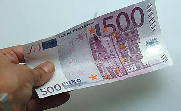 Addio alla banconota da 500 euro nel 2018