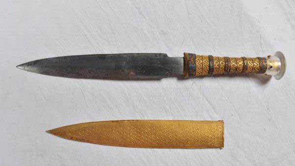 Il pugnale di Tutankhamon viene dallo spazio