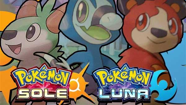 Pokemon Sole e Luna tutti i dettagli