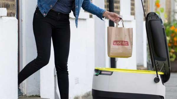 Just Eat il cibo a domicilio consegnato dai robot